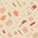 Symbol kitchen pattern Stock Photography