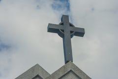 Symbol kościelny krzyż Chrystianizm religii symbol Fotografia Stock