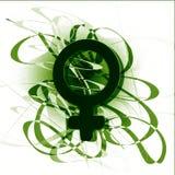 symbol kobieta Zdjęcia Stock