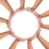 symbol konceptualna jedność Obraz Royalty Free