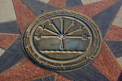 Symbol in Kostroma. Royalty Free Stock Photos