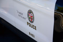 Symbol of the LAPD Stock Photos