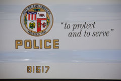 Symbol of the LAPD Stock Images