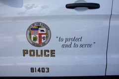 Symbol of the LAPD Royalty Free Stock Photos