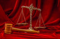 Symbol of law and justice Stock Image