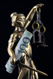 Symbol of law and justice Stock Images