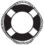 Symbol lifebuoy Royalty Free Stock Image