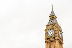 Symbol of london,big ben, London UK Royalty Free Stock Photo