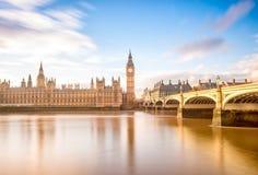 Symbol of london,big ben, London UK stock image