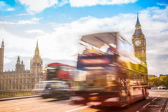 Symbol of london,big ben, London UK Stock Photography