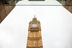 Symbol London, big ben, Londyn UK Obrazy Stock