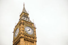 Symbol London, big ben, Londyn UK obrazy stock