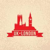 The symbol of London, UK. Royalty Free Stock Photos