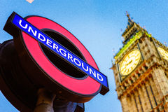 Symbol of London and United Kingdom Royalty Free Stock Photo