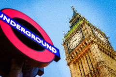 Symbol of London and United Kingdom Royalty Free Stock Photography