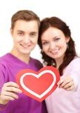 Symbol of love Stock Image