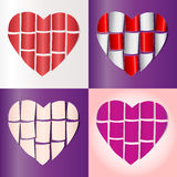 Symbol of love and Valentine's Day. Royalty Free Stock Photography