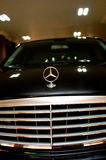 The Symbol of Luxury. A Mercedes Benz symbol on the bonnet. Picture was taken on 05 April 2011 royalty free stock photo