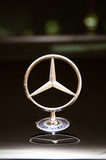 The Symbol of Luxury. A Mercedes Benz symbol on the bonnet. Picture was taken on 05 April 2011 stock photo