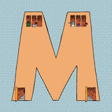 Symbol For M Stock Image