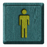 Symbol man Royalty Free Stock Photography