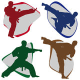Symbol Martial arts Royalty Free Stock Photo
