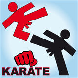 Symbol Martial arts Stock Photography