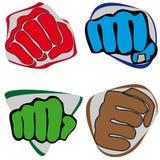 Symbol Martial arts-fist. Karate style. Stock Photos