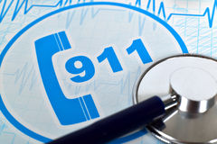 911 symbol Royalty Free Stock Image