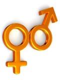 Symbol Men and Women. Love Royalty Free Stock Image