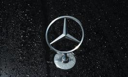 Symbol of Mercedes Benz. Stock Image