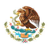 Symbol of Mexico, vector illustration. Royalty Free Stock Photos