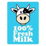 Symbol for milk Stock Photo