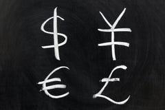 Symbol of money Stock Images
