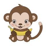 Symbol of 2016 - a monkey Stock Image