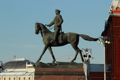 Symbol of Moscow, Russia Royalty Free Stock Photography