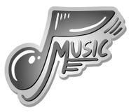 Symbol music Stock Image