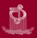 Symbol of music (vector) Stock Photo
