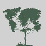 Symbol of nature,. Authors illustration in Stock Illustration