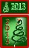 Symbol neuen Jahres 2013 - die Schlange Lizenzfreie Stockfotos