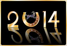 Symbol of the New Year Stock Image