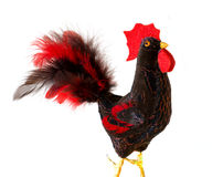 Symbol New Year 2017 of rooster. Hand made craft Stock Photos