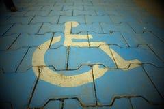 symbol niepełnosprawnych Zdjęcie Stock