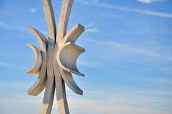 Symbol: obelisc sculpture stock image