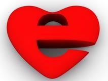 Free Symbol Of Internet As Heart Stock Photo - 3816100