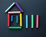 Symbol Of The House. Royalty Free Stock Photos