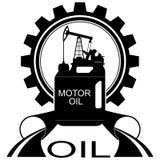 Symbol olje- industry-1 Royaltyfria Bilder