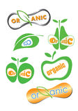 Symbol for organic food and drink Stock Photography