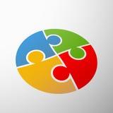 Symbol partnership. Stock illustration. Royalty Free Stock Photo