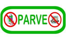 Symbol: PARVE Fleisch und Tagebuch geben frei Lizenzfreie Stockfotografie
